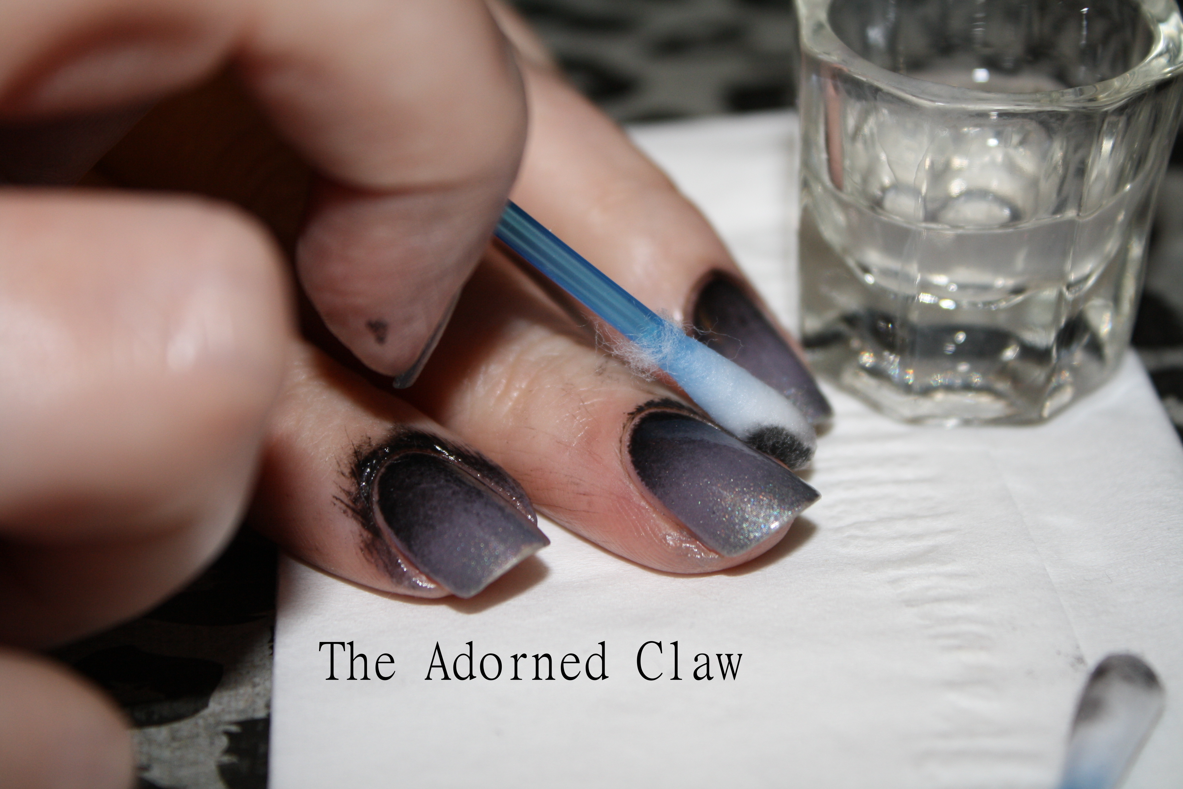 Nail Polish Clean Up Tutorial | The Adorned Claw