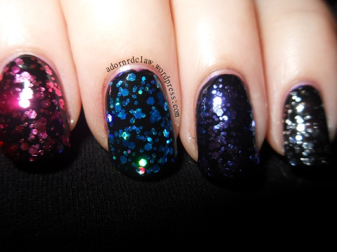 Chit Chat Glitter Polish