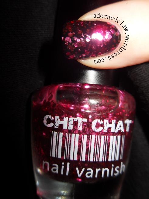Chit Chat Pink Glitter