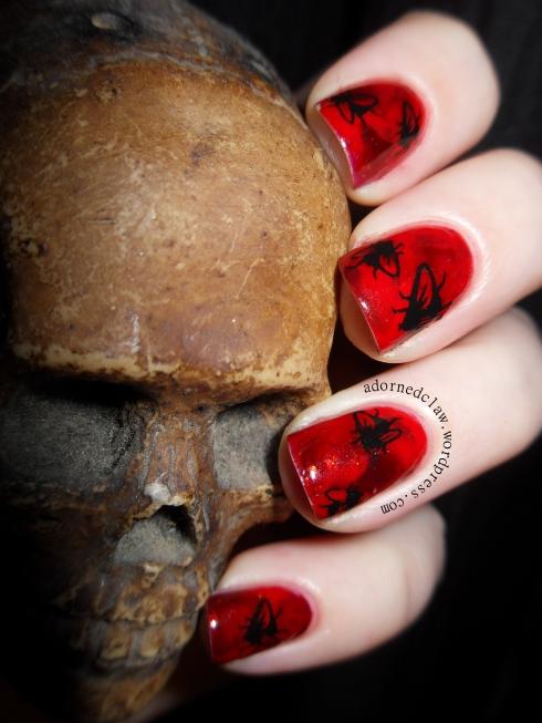 Halloween Blood And Flies