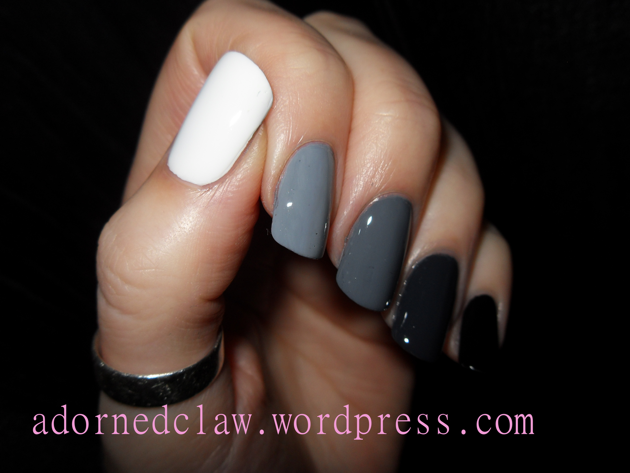 Hair platinum blonde further black ombre nails likewise make pine cone