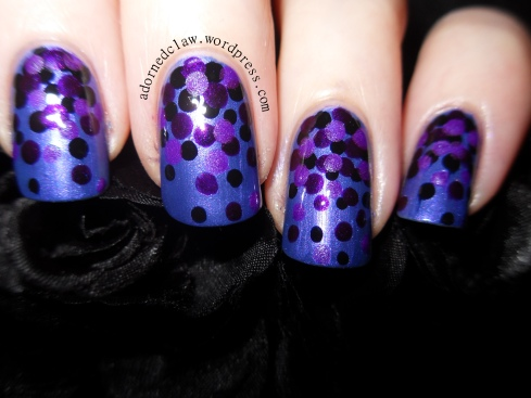 Purple dotted gradient