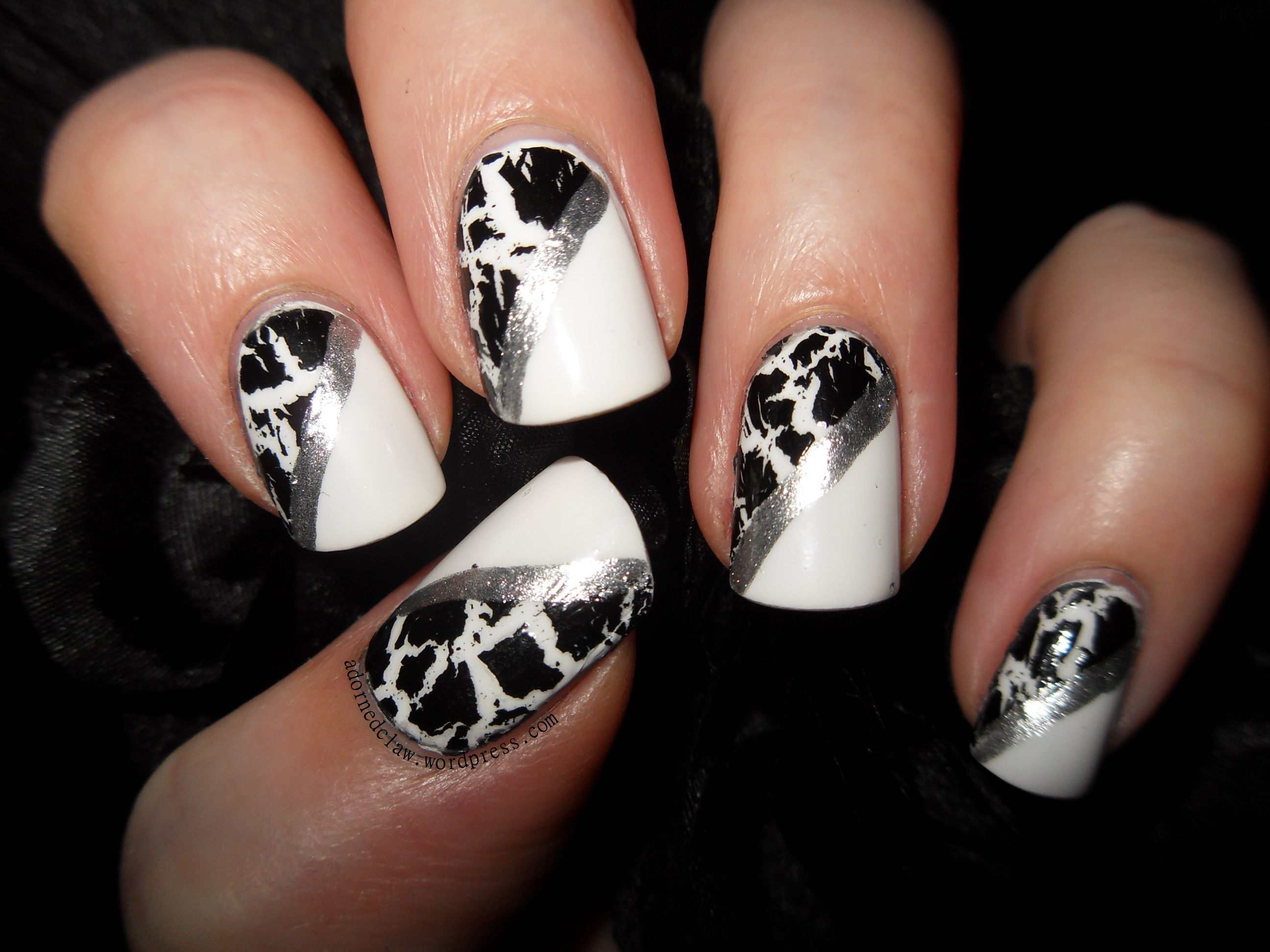 Crackle Polish Experiment! | The Adorned Claw