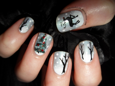 Cute Christmas Nail Art