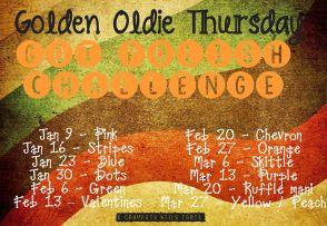 Golden Oldie Challenge