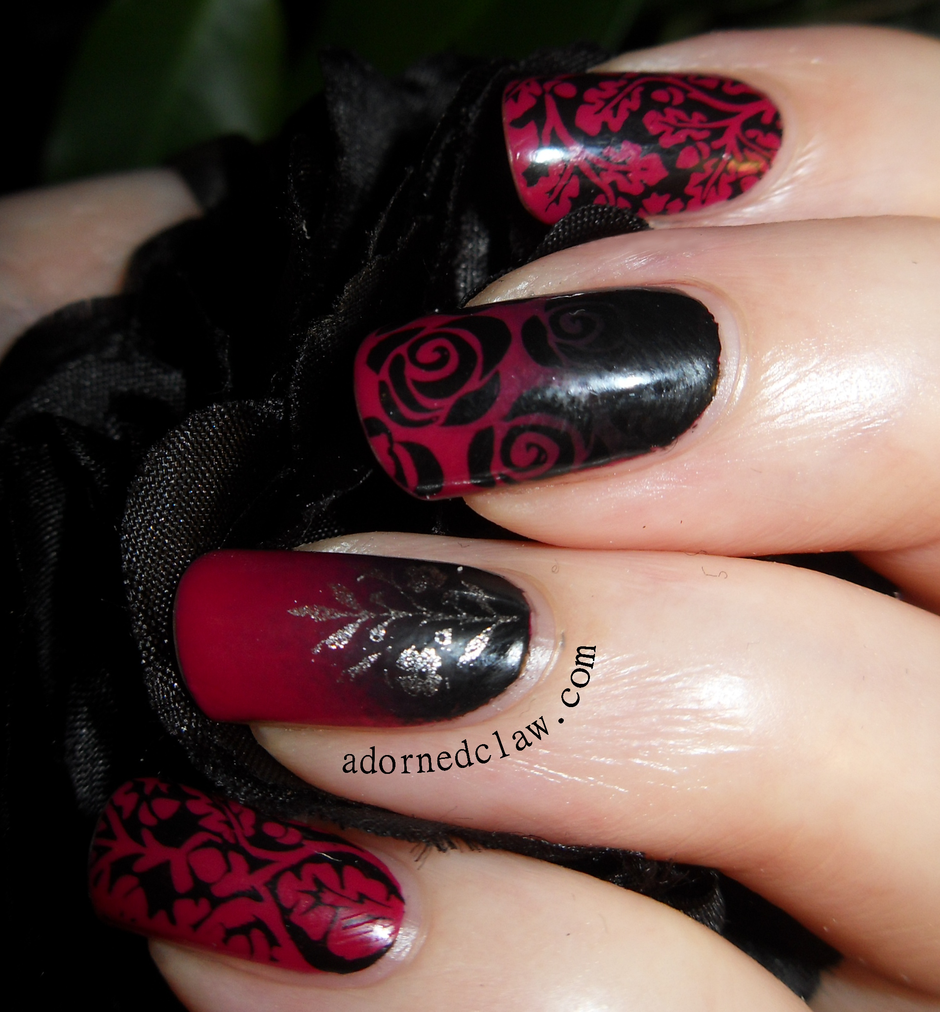 valentines nail art vampy s nail the adorned claw 31578