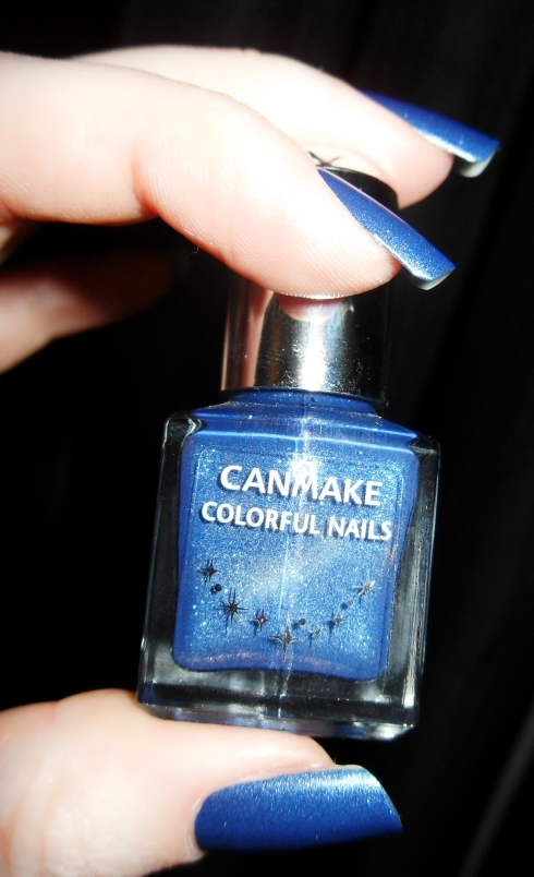 Can Make Colorful Nails Denim Bottle