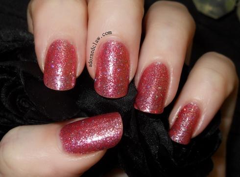 Canmake Japanese Nail Polish Pink Glitter
