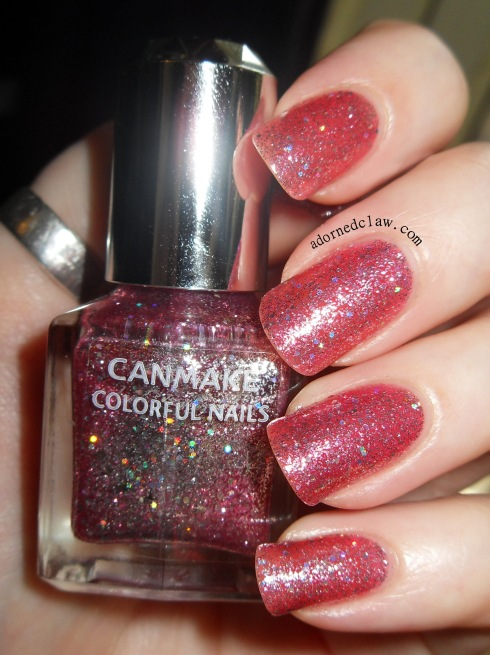 Canmake Nail Color Pink Glitter
