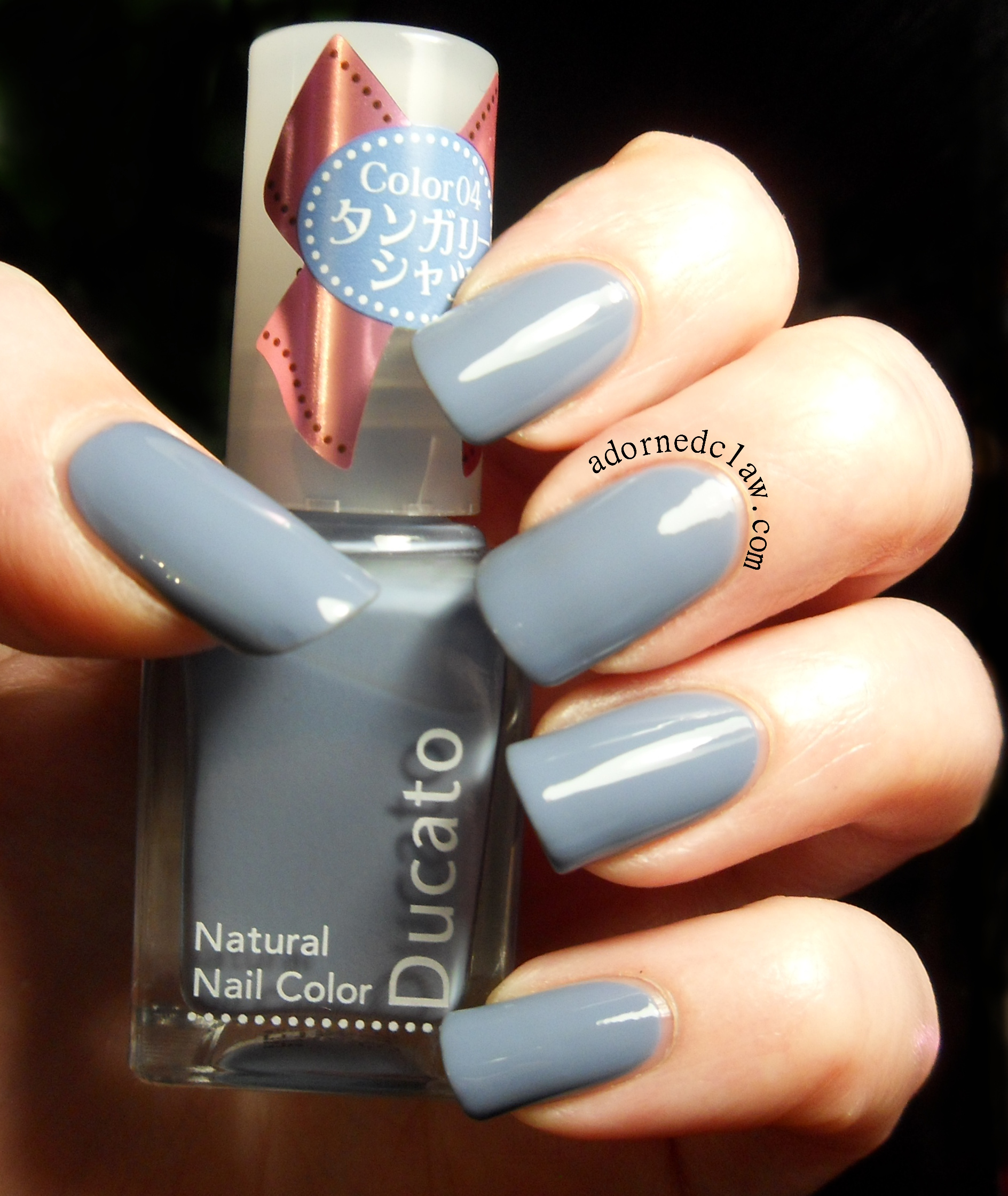 Ducato 04 – Nail Polish From Japan | The Adorned Claw