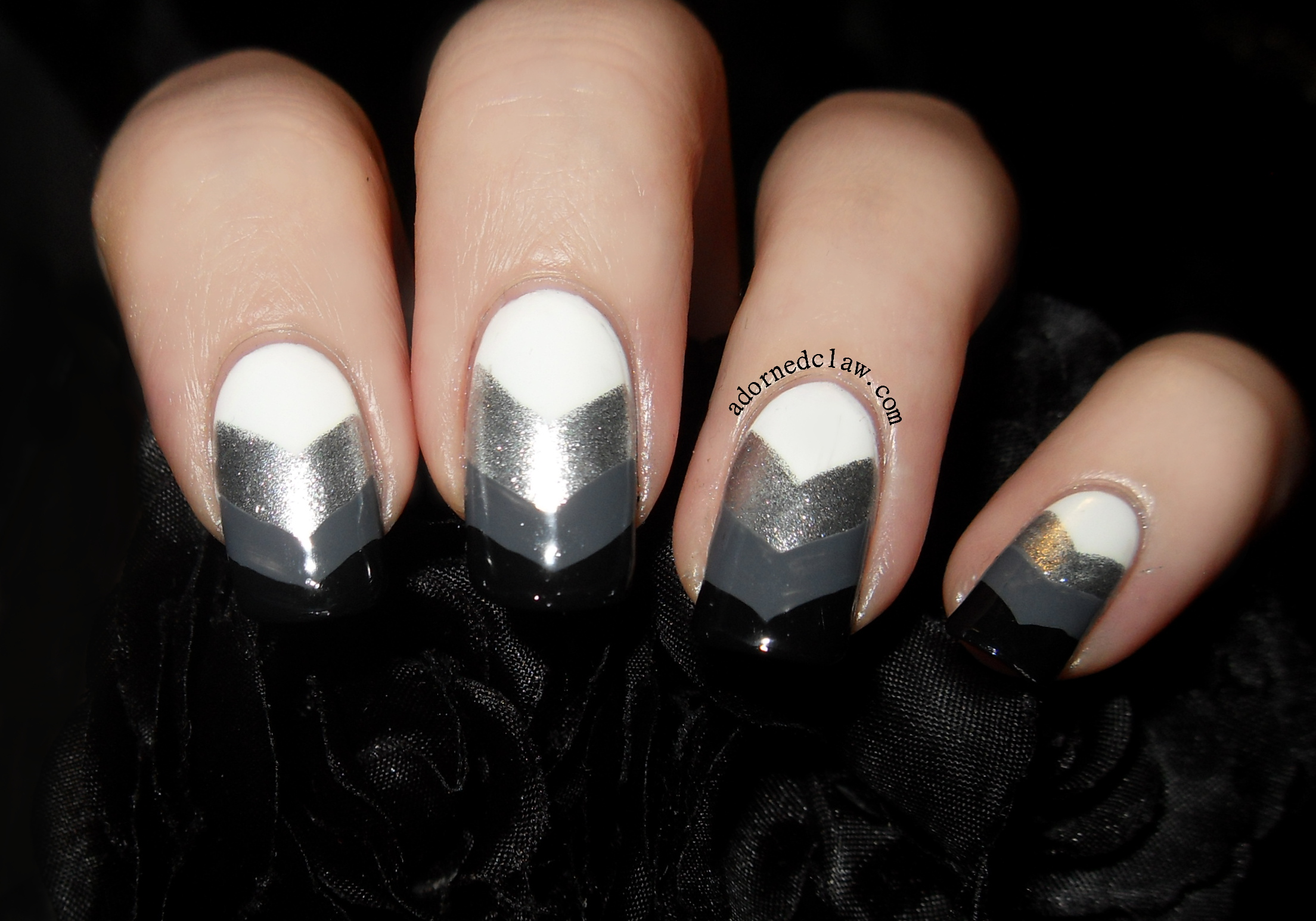 Sinful Colors Black on Black | The Adorned Claw
