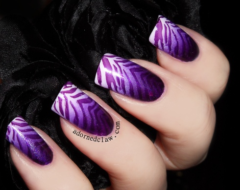 Purple Zebra Gradient