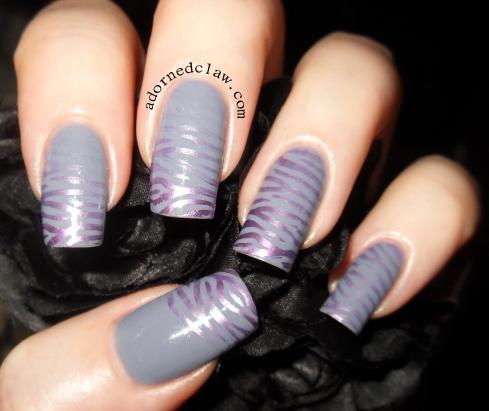 Zebra Print Nails!