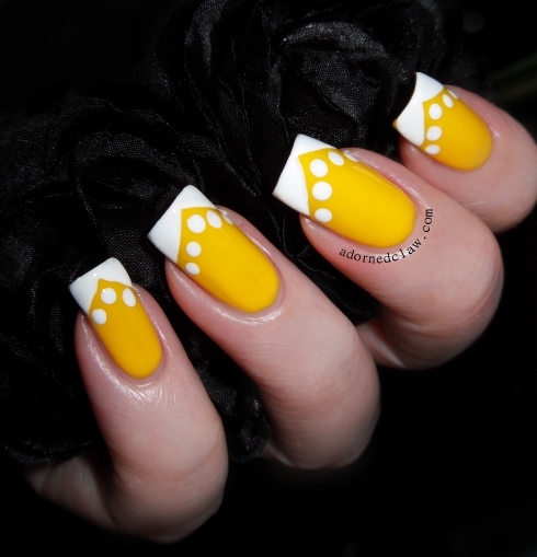 Maybelline Electric Yellow and China Glaze White On White