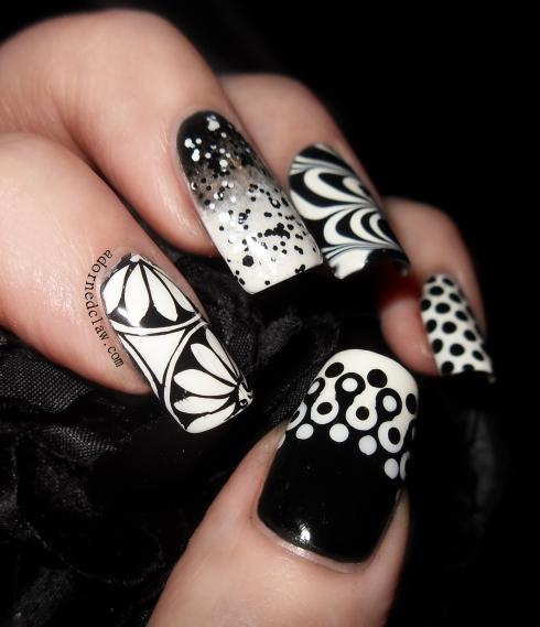 Black and White skittle