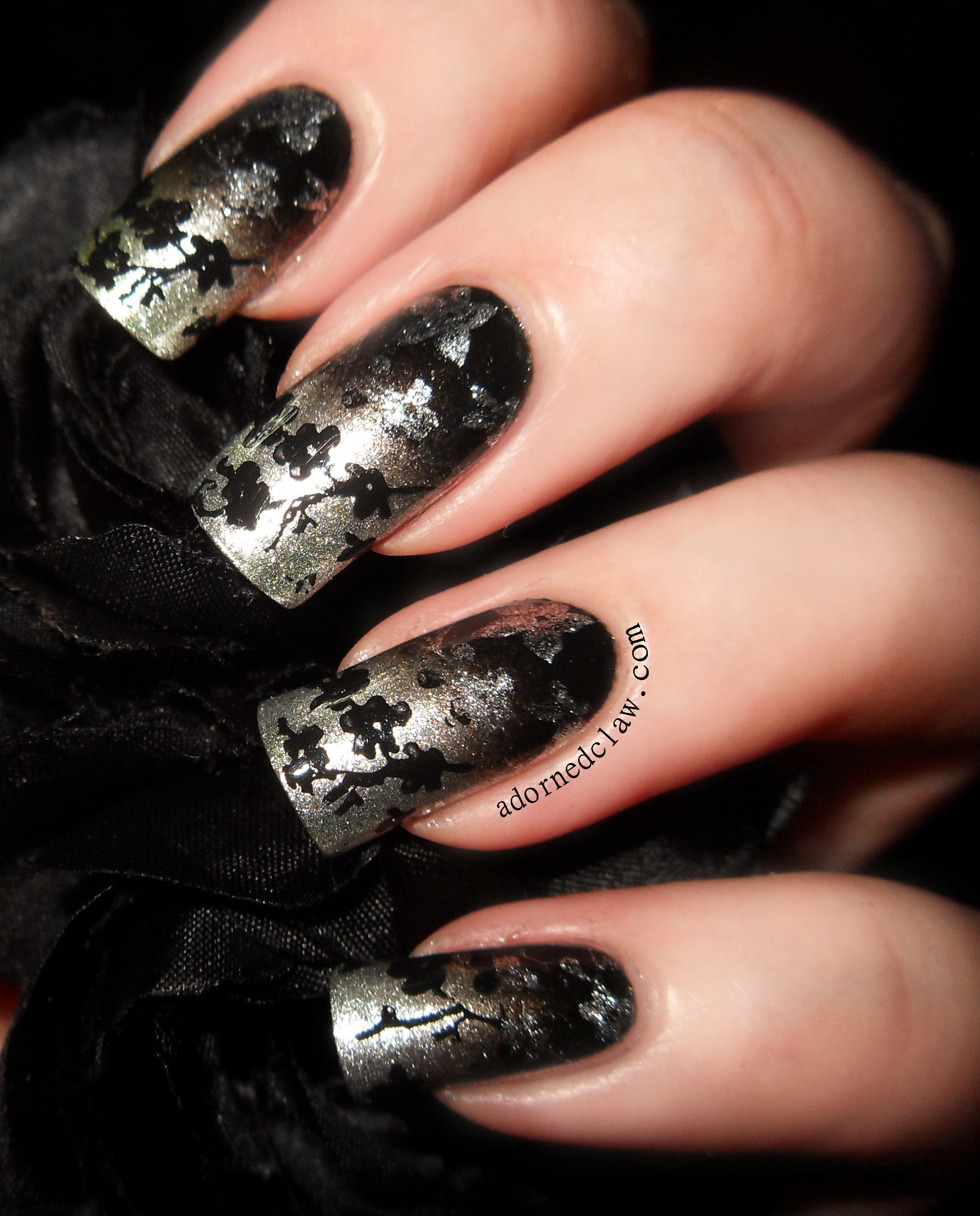 The Adorned Claw: 31DC2014 Day 8 Metallic