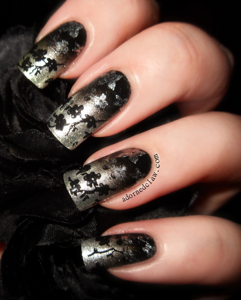 31dc2014 metallic nails