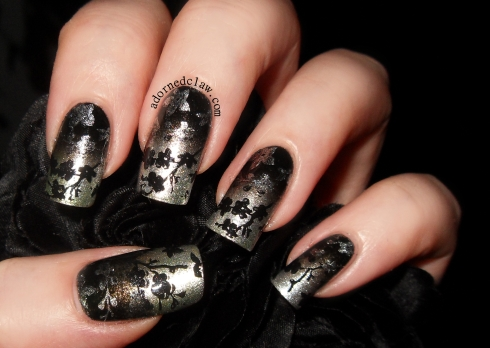 31dc2014 day 8 metallic nails