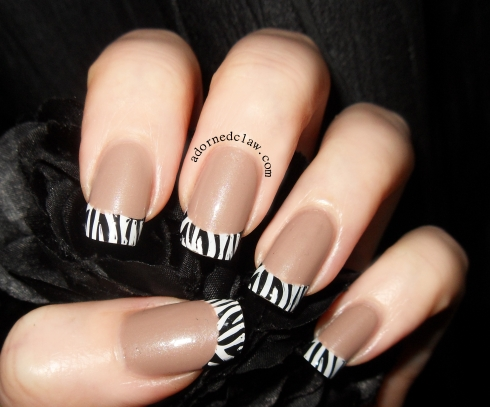Moyou Nails Review Zebra Tips