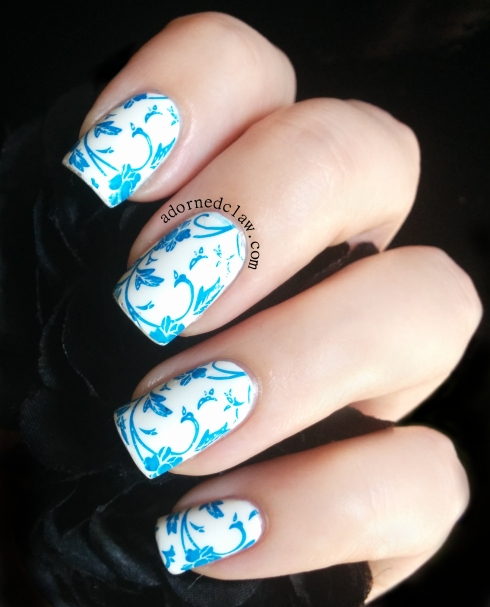 Illamasqua Propaganda Over White on White China Glaze