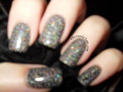 Belle glamour Discoball sparkles