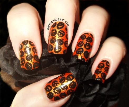 Orange Glitter Pumpkins