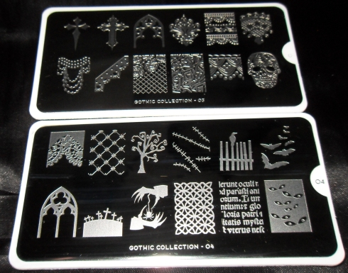 Moyou Gothic Collection Plates 03 and 04