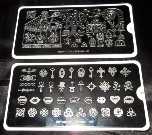Moyou Gothic Collection plates 01 and 02