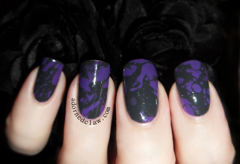 Sinful Colors Amethyst and Seche Nouveau