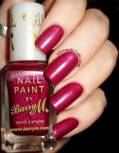 Barry M Silk Poppy