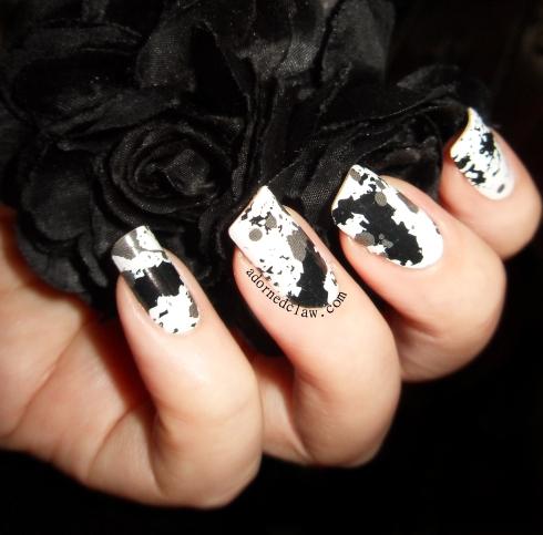OMG Nailstrips Grey Pollock