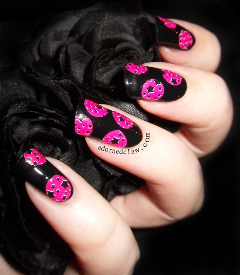 OMG Nailstrips pink stars