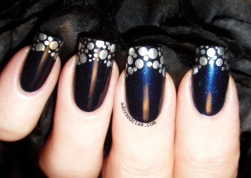 China Glaze - I'd Melt For You and Morgan Taylor - New Year New Blue