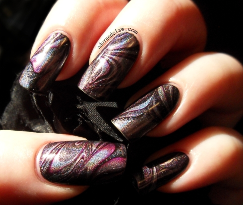 Holographic Watermarble