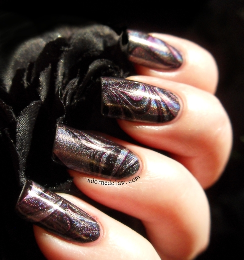 The Adorned Claw: Holographic Watermarble!