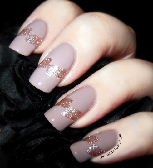 Deborah Lippmann Modern Love, Rimmel Space Dust Aurora and Tip Guides from Born Pretty Store