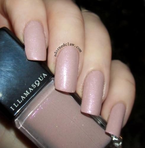 Illamasqua Pink Raindrops Swatch