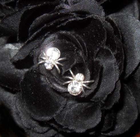 Rhinestone Spider