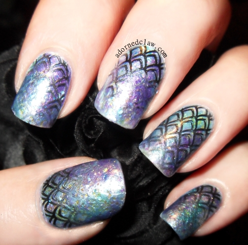 Mermaid Nail Art