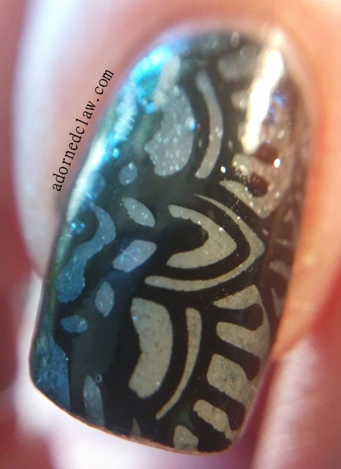 Edge Gradient nail art Macro