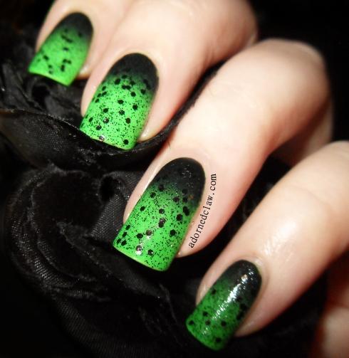 halloween green gradient