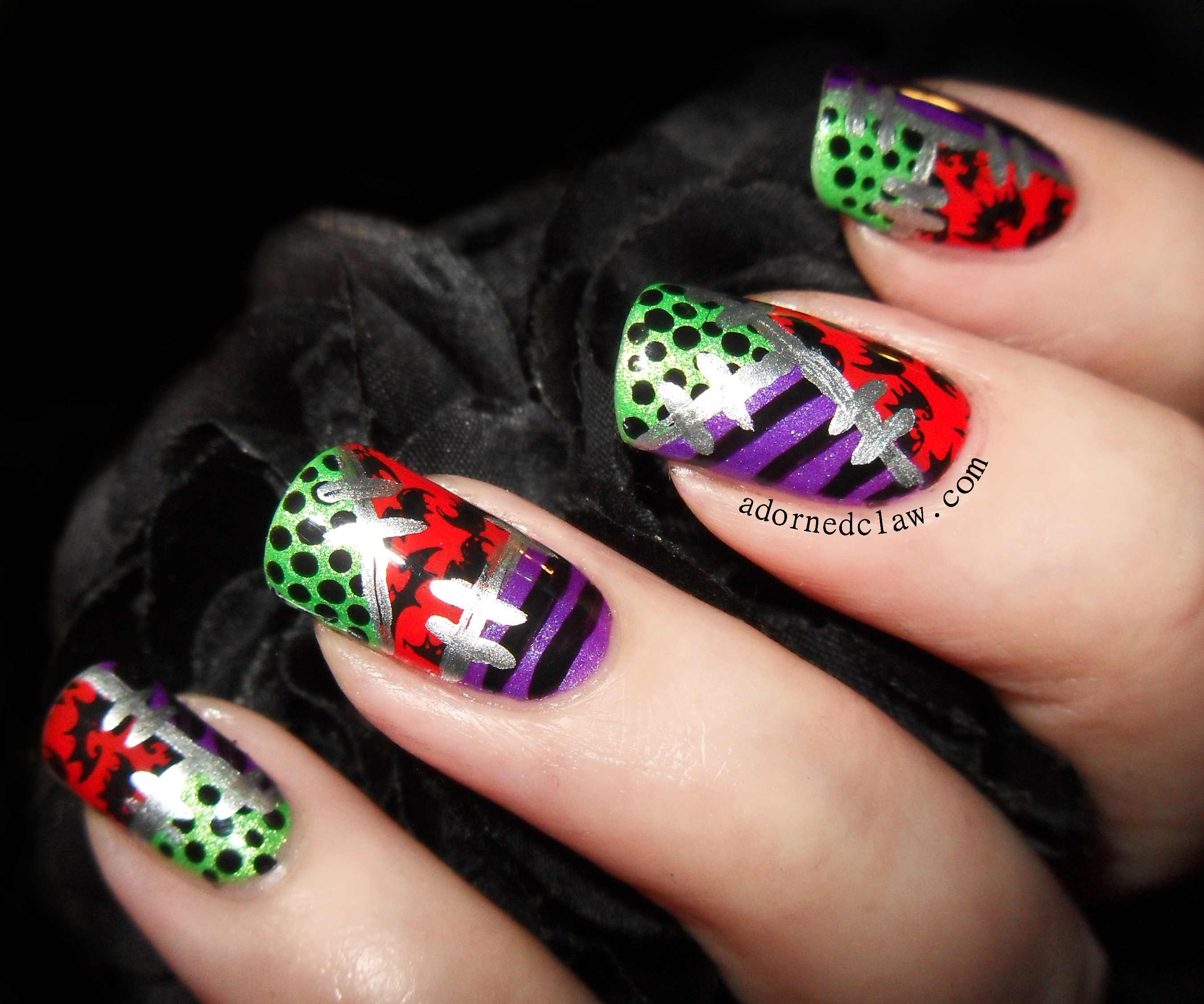 The Adorned Claw: Halloween Patchwork