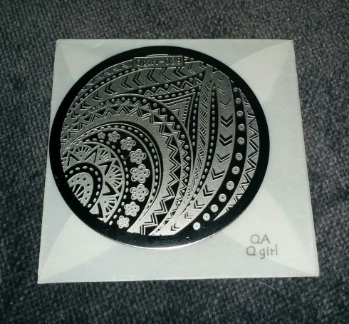 Qgirl-029 stamping plate