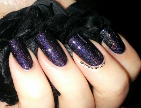 darling diva bad ass nail polish swatch