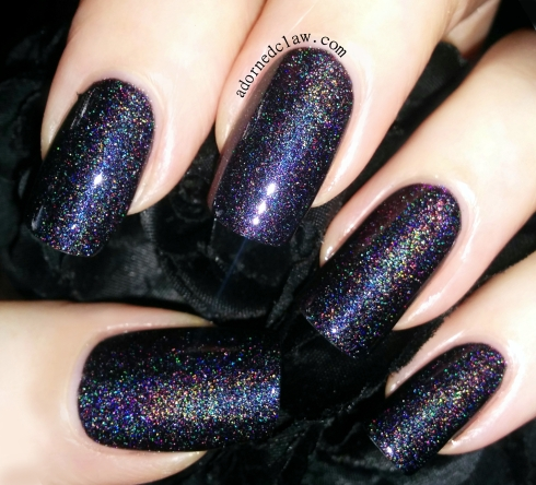 darling diva bad ass nail polish swatch