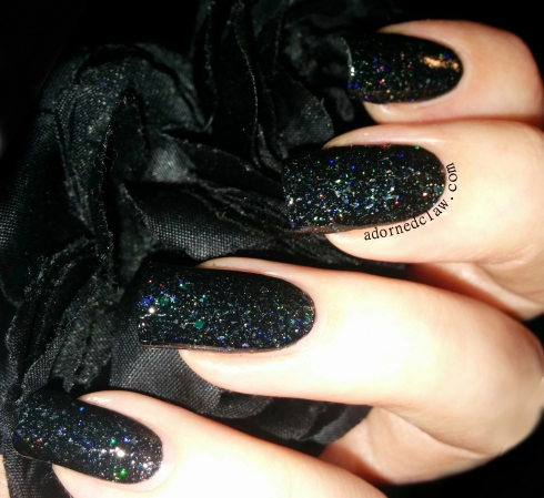 Darling Diva In Space No One Can Hear You Scream Nail Polish Swatch
