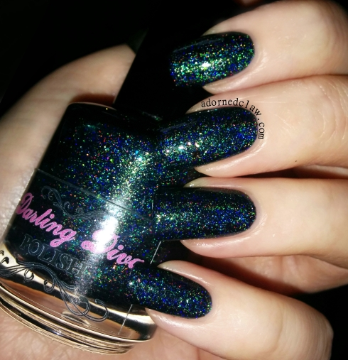 Darling Diva Long Live The Queen Nail Polish Swatch