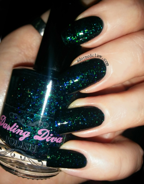 Darling Diva Xenomorph Nail Polish Swatch