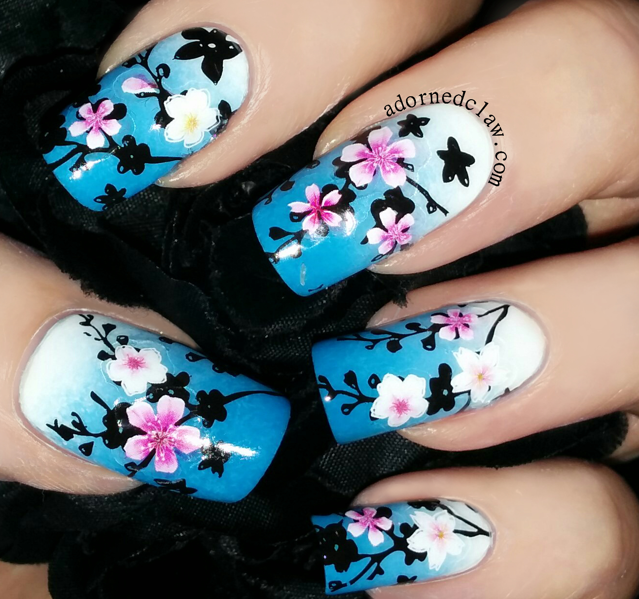 Magico Blossom Nail Stickers Review | The Adorned Claw