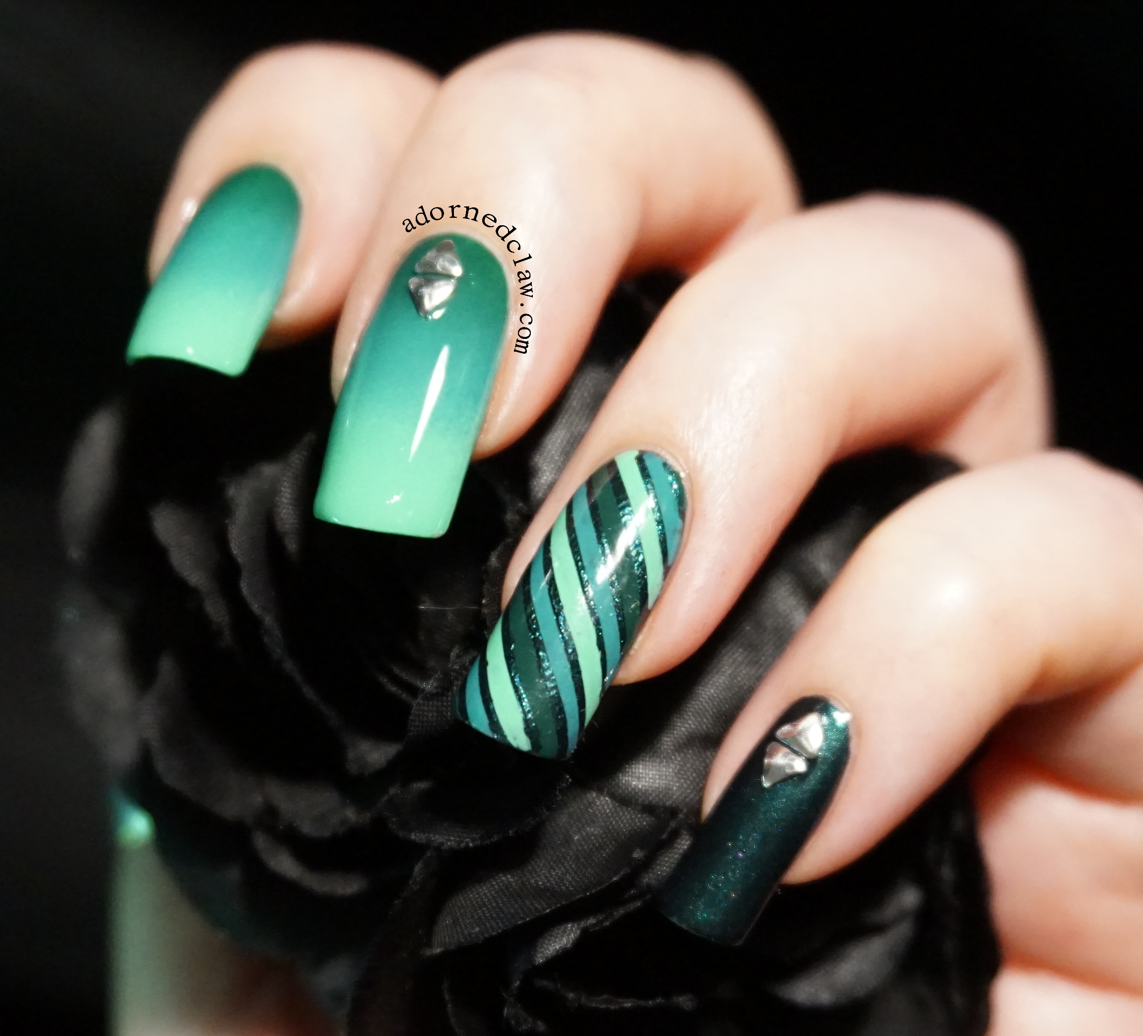 Teal Nails! | The Adorned Claw